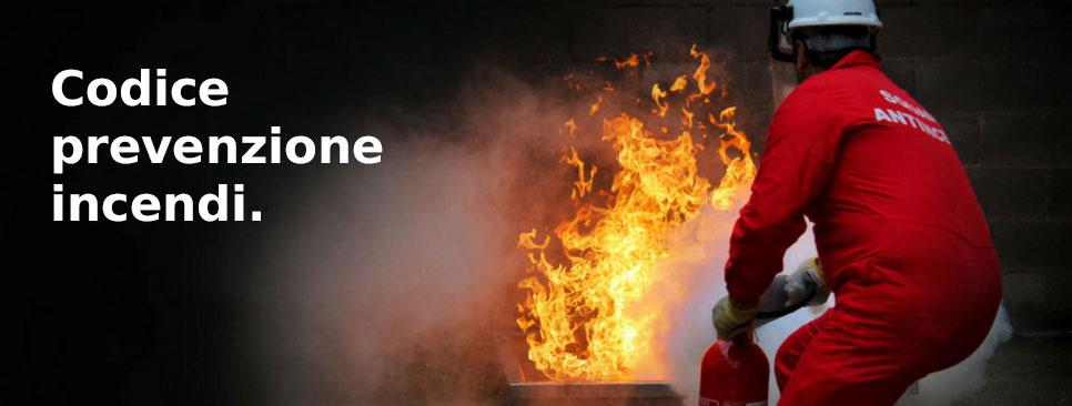 Inail – codice prevenzione incendi