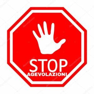 Read more about the article Stop alle agevolazioni se si viola la sicurezza